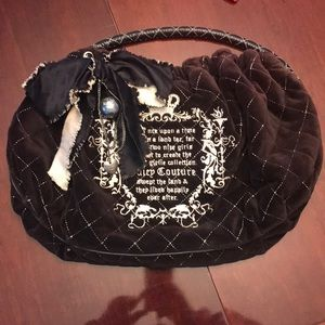 Juicy Couture Velour Fairytale purse